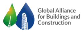 Global Alliance for Buildings and Construction logo