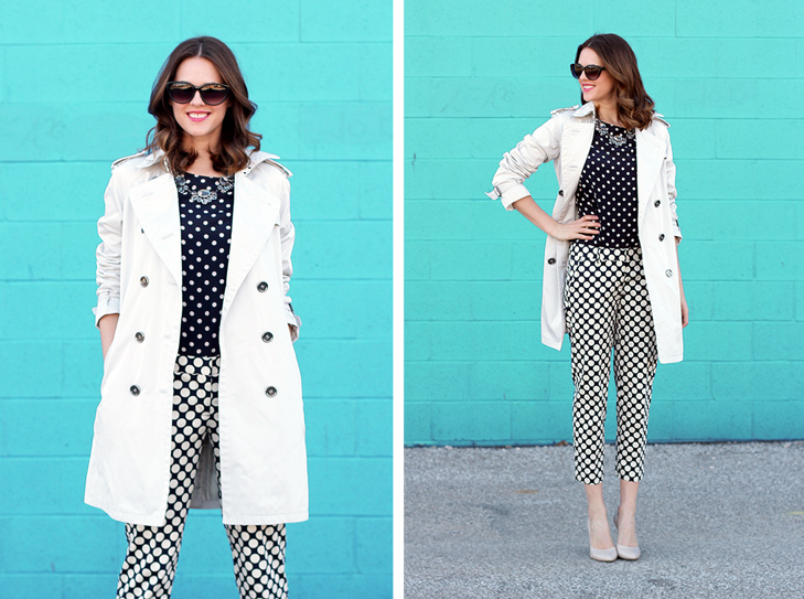 What I Wore: Polka Party, Jessica Quirk, @whatiwore, Polka Dots