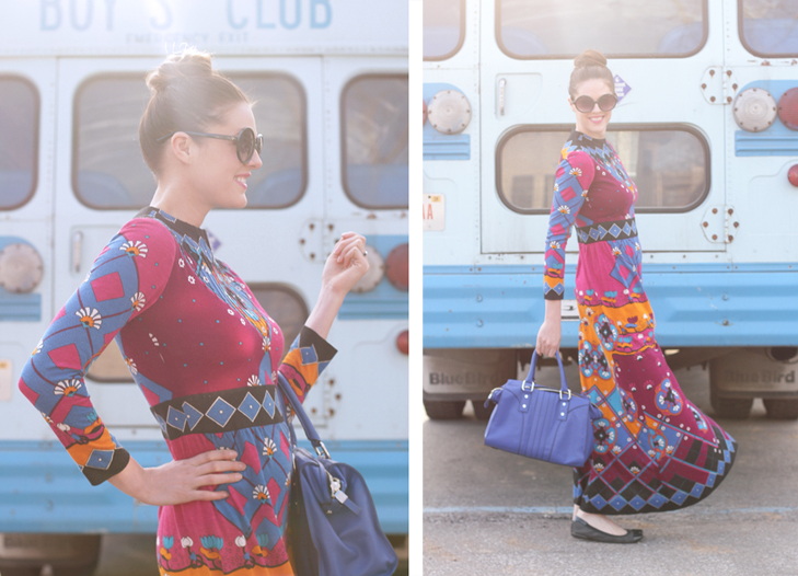 What I Wore: Poppin Tags, Vintage, Jessica Quirk