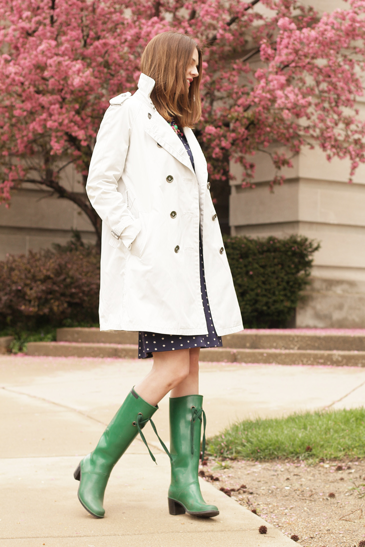 What I Wore: April Showers, Jessica Quirk, WhatIWore.tumblr.com, Rainy Day Outfit