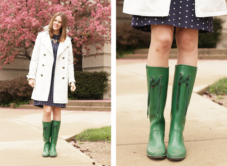 What I Wore: April Showers on What I Wore
