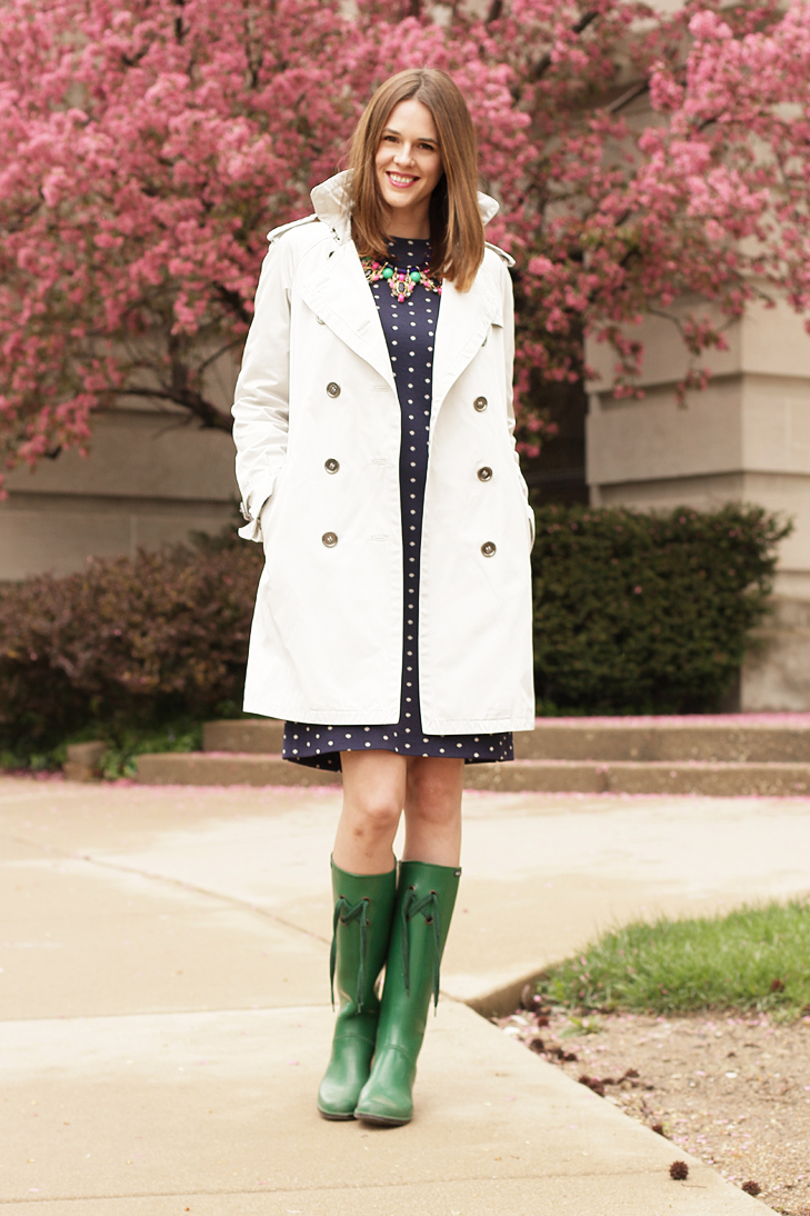 What I Wore April Showers On What I Wore