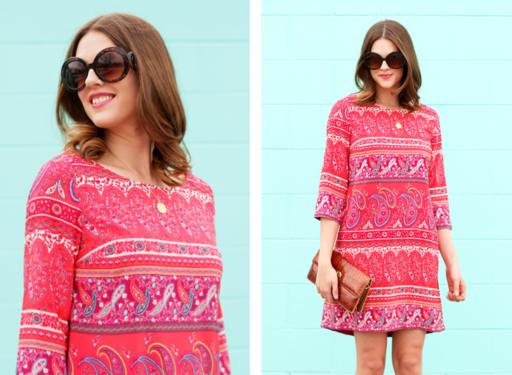 What I Wore: Paisley, Jessica Quirk, What I Wore, Paisley Dress
