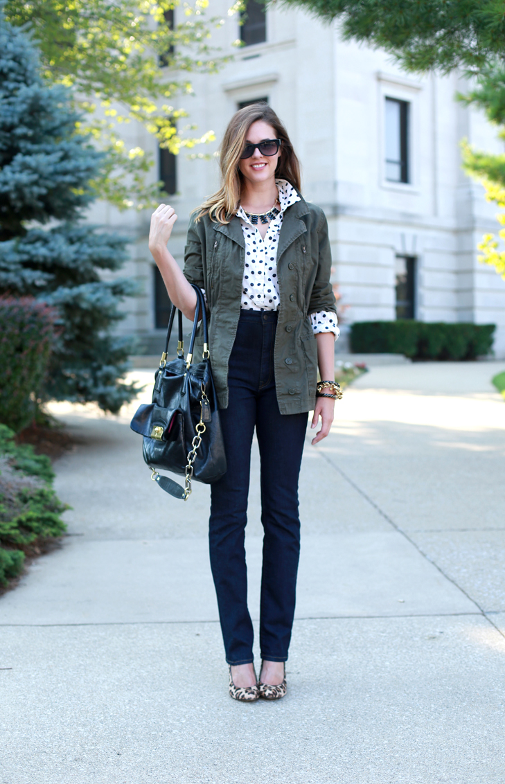How to accessorize a casual look, Weekend outfit idea, Pops of Leopard, Glam up by accessorizing, When Casual Meets Glam