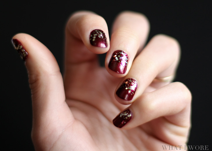 Happy new years nail art on what i wore nail art new years nail art jessica quirk whatiworetumblr prinsesfo Choice Image