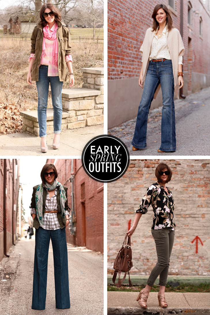 Early Spring Outfits on What i Wore, Jessica Quirk, whatiwore.tumblr.com