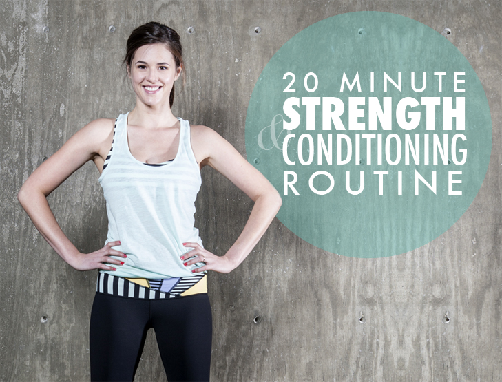 Free 20 Minute Exercise Routine on What I Wore, Fitness, Real Workouts, Jessica Quirk, whatiwore.tumblr.com
