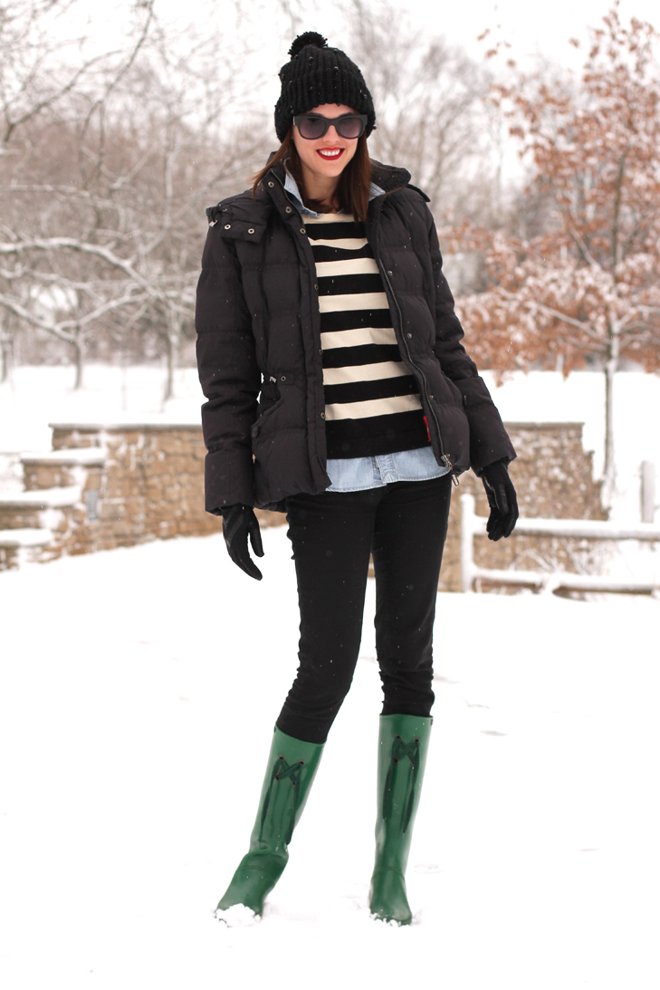 Snow Day on What I Wore, Jessica Quirk, whatiwore.tumblr.com, winter outfit