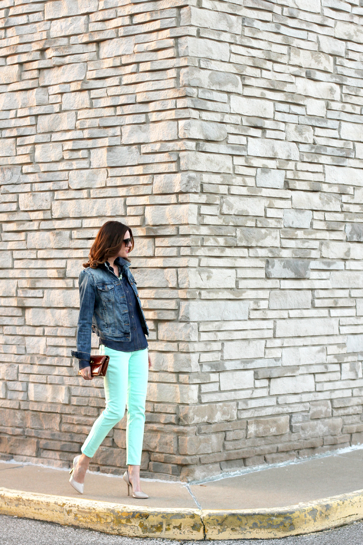 Double Mint on What I Wore, Jessica Quirk, whatiwore.tumblr.com