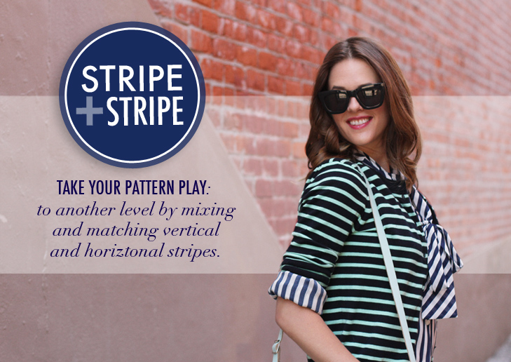 What I Wore: Stripe + Stripe, Jessica Quirk, whatiwore.tumblr.com
