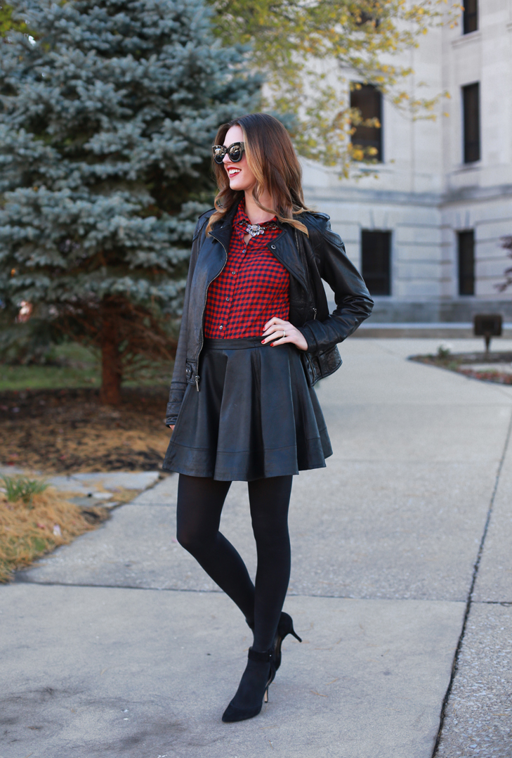 What I Wore | Buffalo Plaid on What I Wore