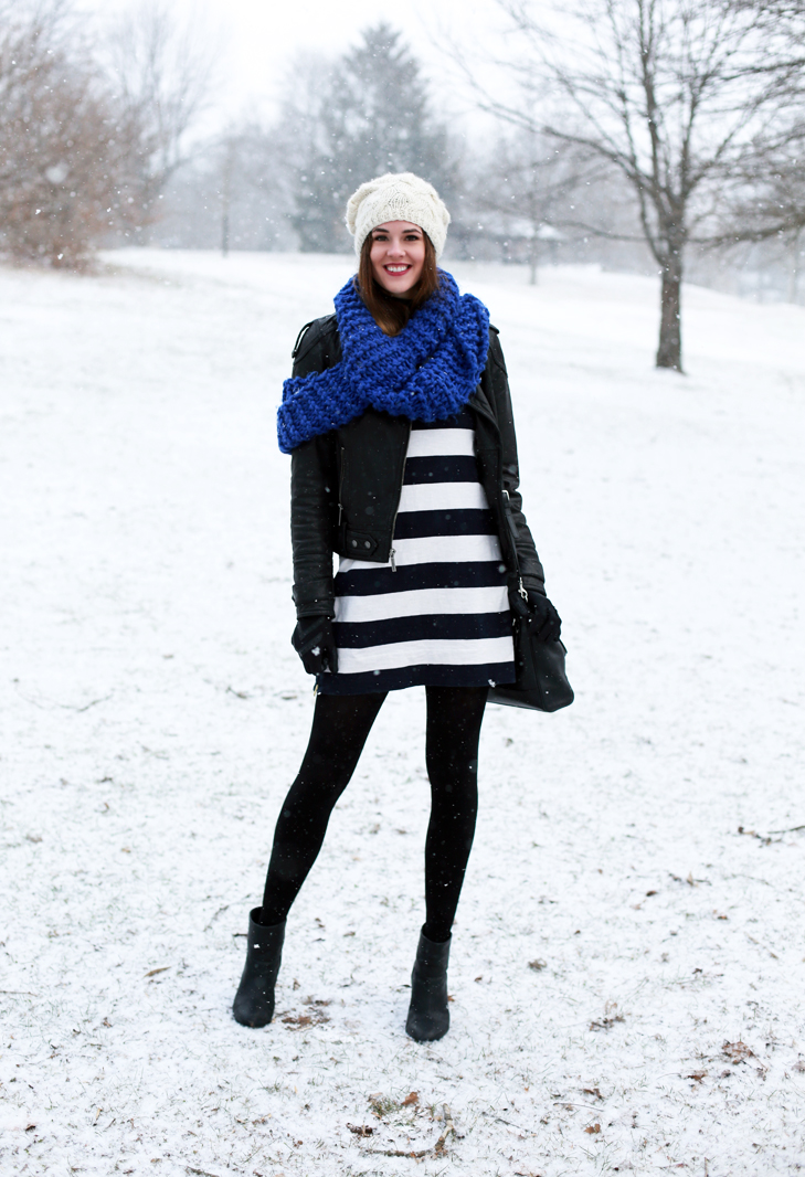 What I Wore | Morning Snow on What I Wore
