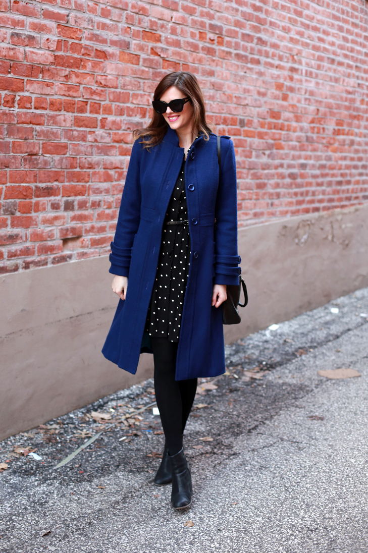 What I Wore | Cobalt Part II, @whatiwore, blue coat