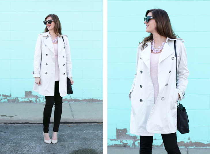 Pregnancy Style, Maternity Style, Spring, Ballet Pink Outfit, @whatiwore