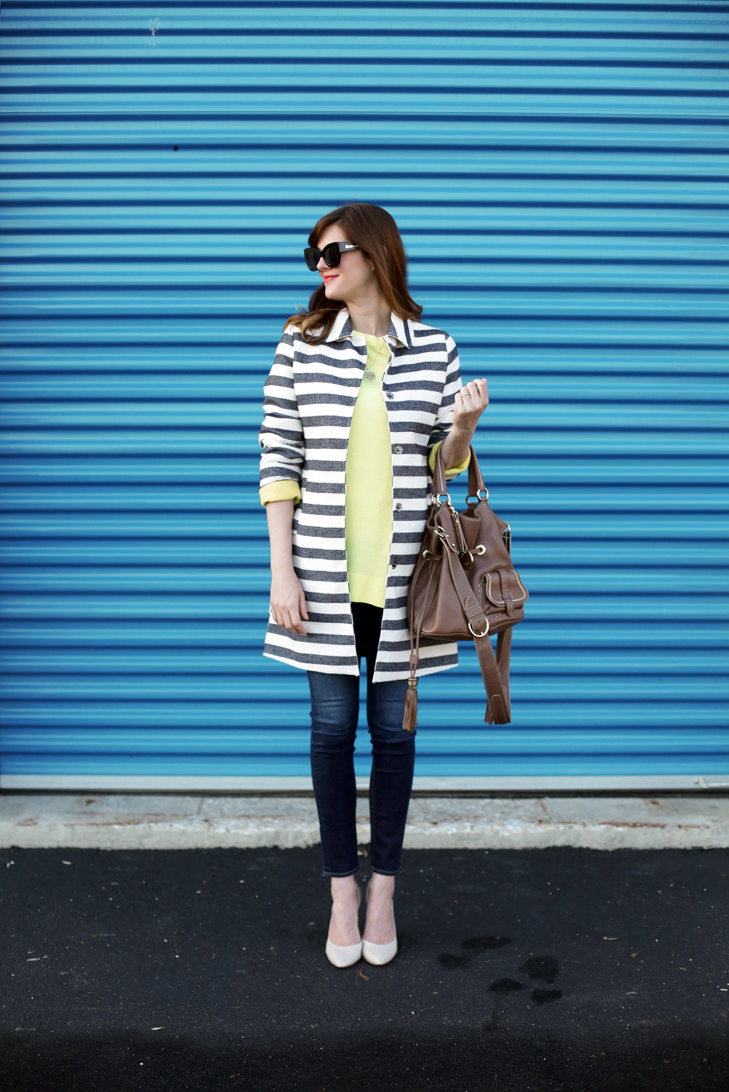 Stripes, Citron, Maternity Style, Pregnancy Style, Pregnancy Outfit, Spring, @whatiwore