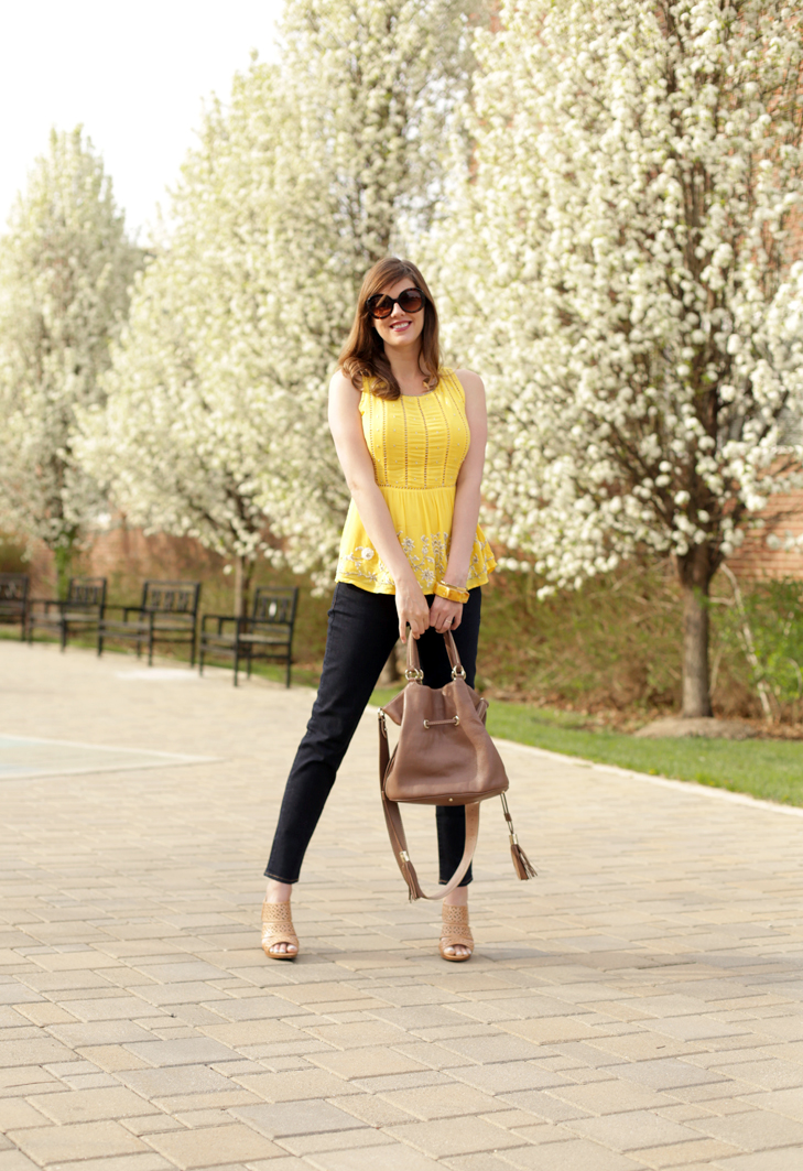 @whatiwore, Maternity Style, 21 Weeks, Yellow