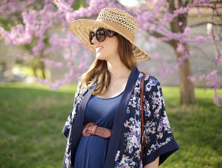 Kimono Top, Pregnancy Style, @whatiwore