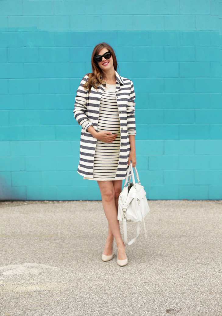 What To Wear When You're Pregnant, 24 weeks, @whatiwore
