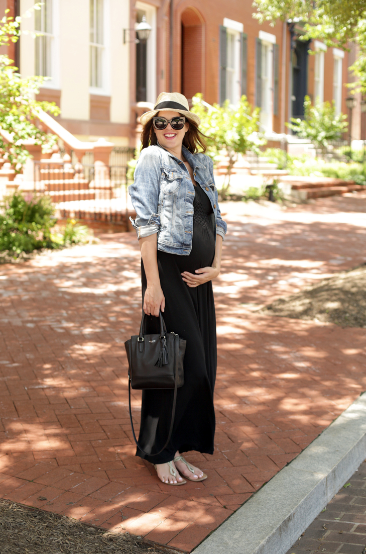 What I Wore | On The Road Again, comfy road trip outfit, maternity style, #dressthebump, @whatiwore