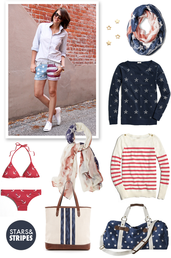 Stars and Stripes, Red White and Blue, Patriotic Style, Patriotic, Fourth of July, Target, J.Crew Factory, @whatiwore