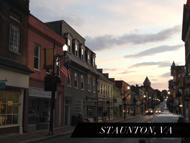 Staunton, VA, Quirk Road Trip, Beverly Street, Shenandoah Valley, What I Wore Travels