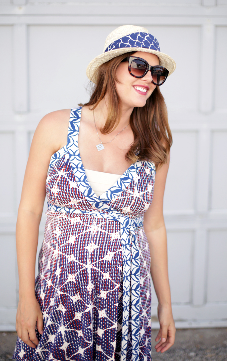 Maternity Hack, #dressthebump, 33 weeks pregnant, pregnancy style, maternity style, DvF for pregnancy, DvF, Jessica Quirk, @whatiwore