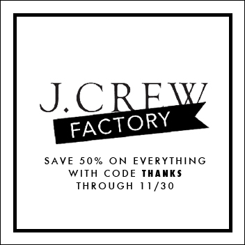 J.Crew Factory Promo Code