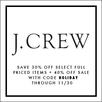 JCrew Promo Code