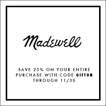 Madewell Promo Code, Black Friday