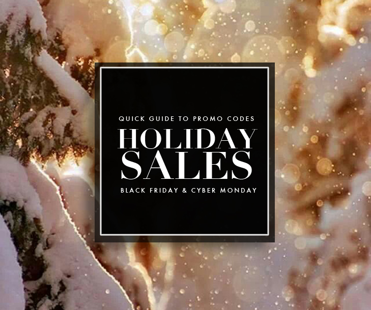 Promo Codes for Black Friday, Promo Codes for Cyber Monday, Holiday Promo Codes