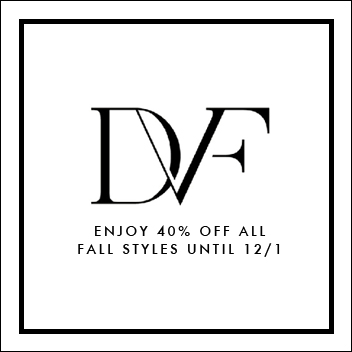 DVF sale, DVF 40% off