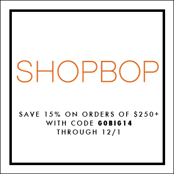 Shopbop Sale, Shopbop 15% off