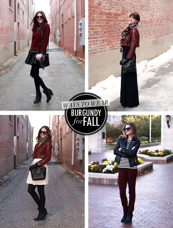 Burgundy, Ways to wear Burgundy, Maroon, Oxblood