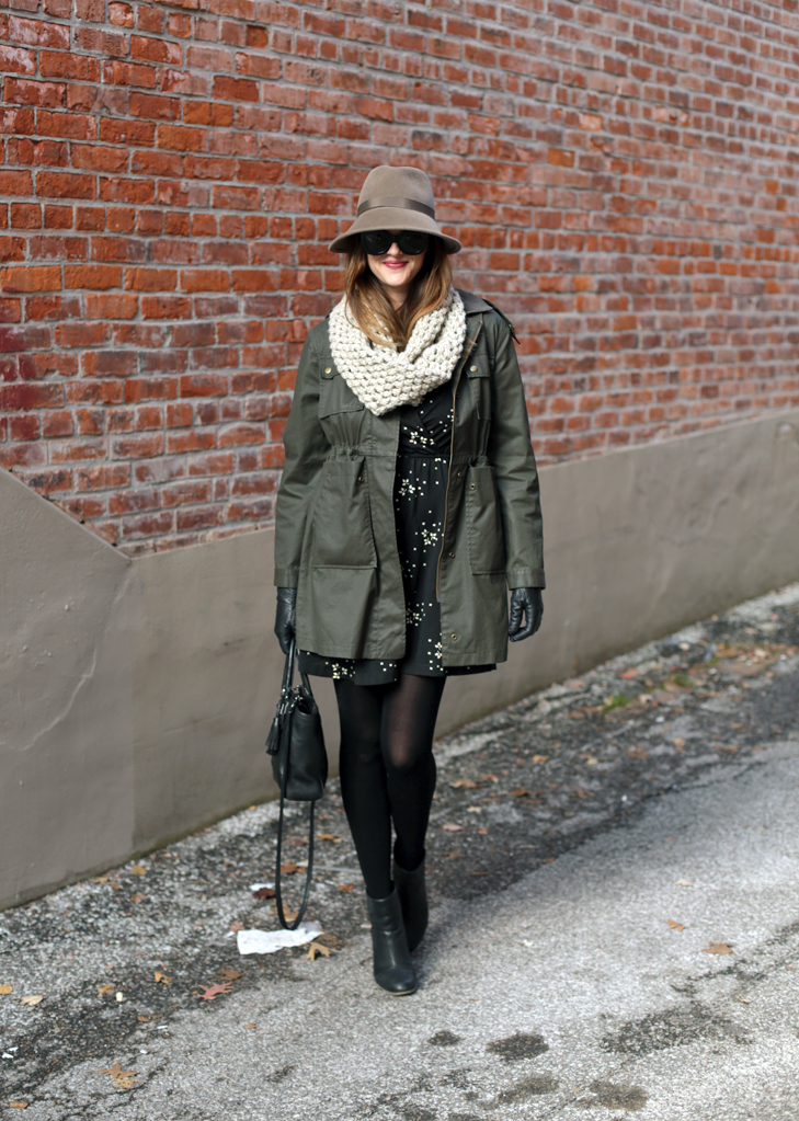 Millinery, Fedora, Winter Style, WInter Outfit, Nursing Outfit, BFing mom