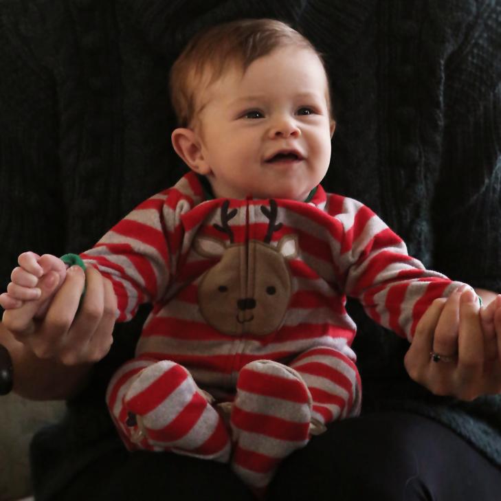 Felix's First Christmas, Christmas 2014