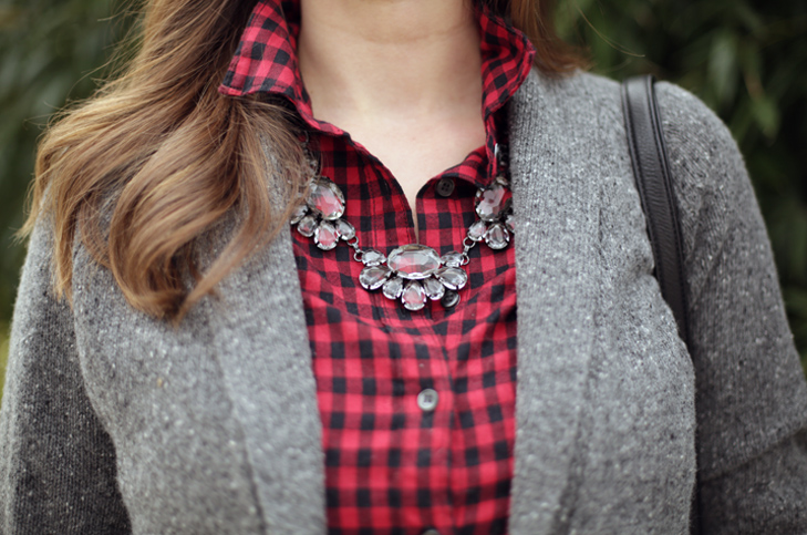 Holiday Casual, Christmas Outfit, Buffalo Plaid, Jessica Quirk