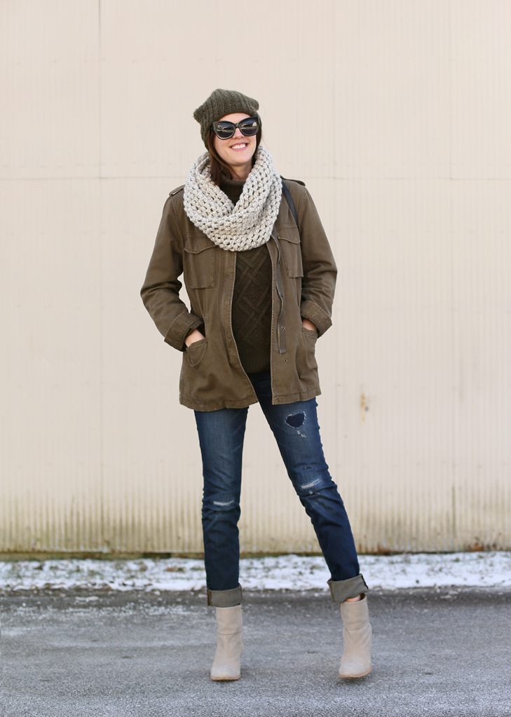 Olive Green, Winter Outfit, Casual Style