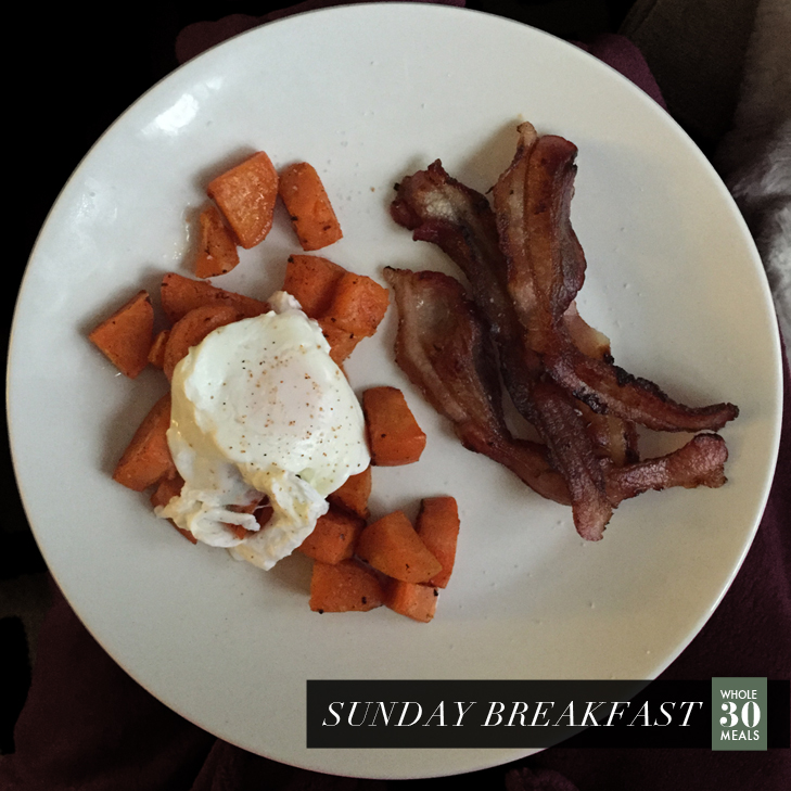 Whole 30 Breakfast Ideas, Paleo Breakfast, Week of Whole30 Breakfasts