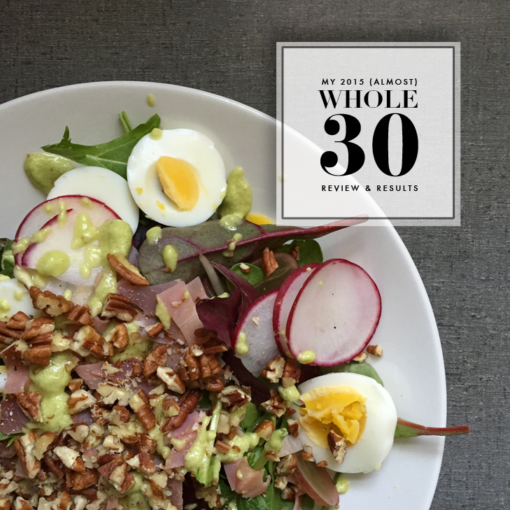 Whole 30, Whole 30 Results