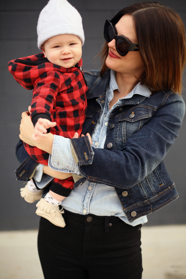 Mom Style, Mom Outfit, Baby Boy outfit