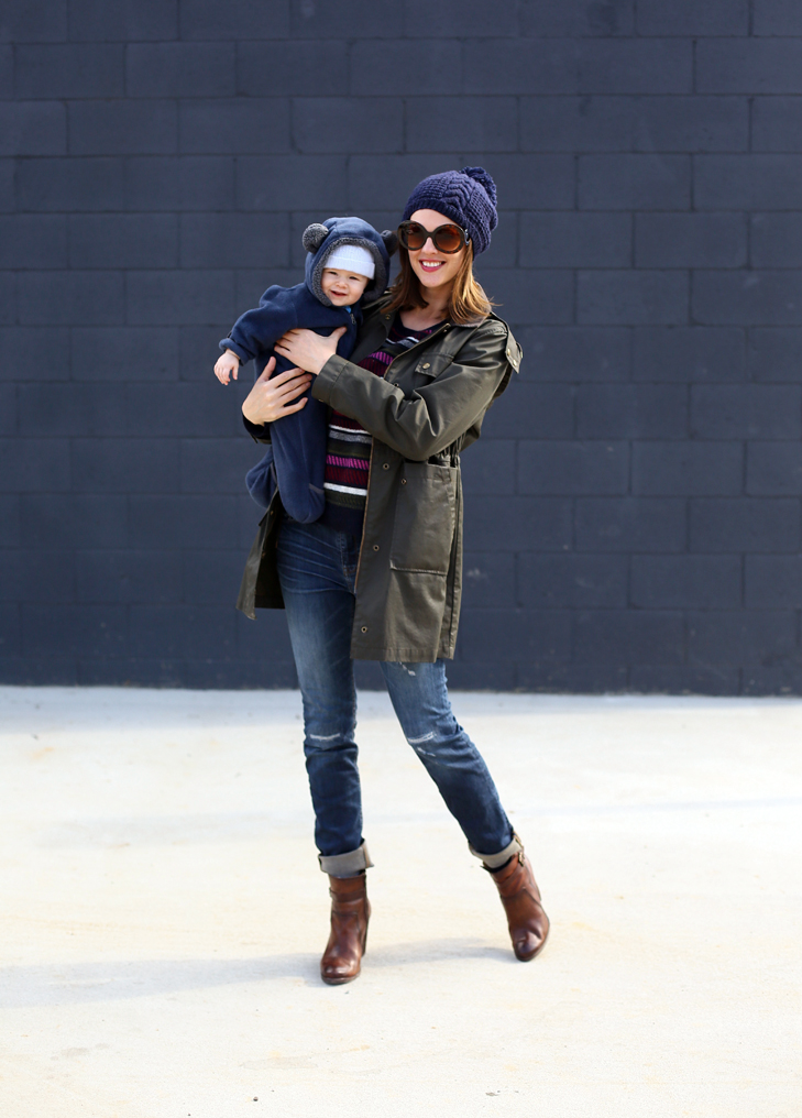 mom style, mom on duty, mommy and baby