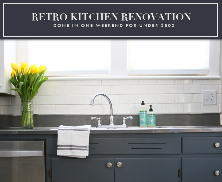 My Home Weekend Kitchen Renovation STARS FIELD - Cheap kitchen and bathroom renovations