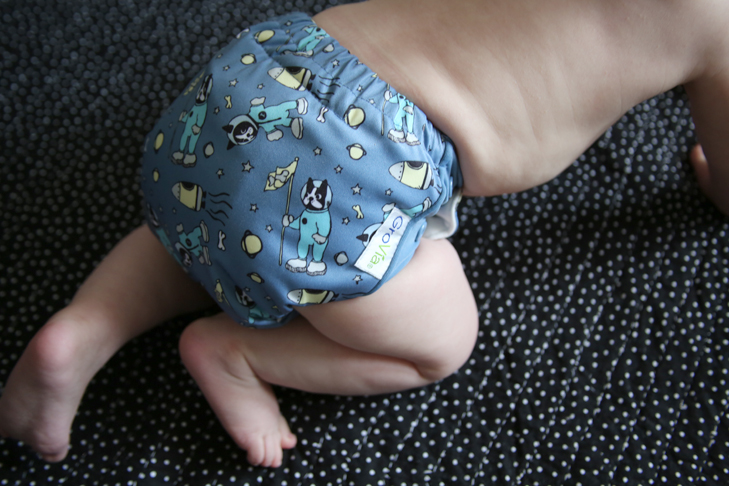GroVia 2015 prints, Astro, cloth diapers