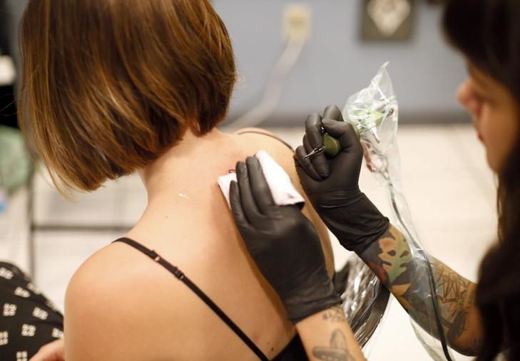 Bee Tattoo, #beetattoo, Honey Bee Tattoo