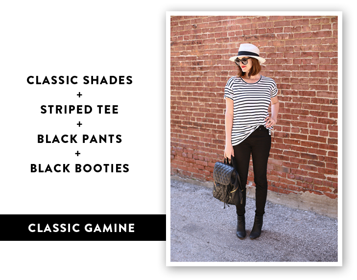 Gamine Outfit, Parisian Outfit Idea