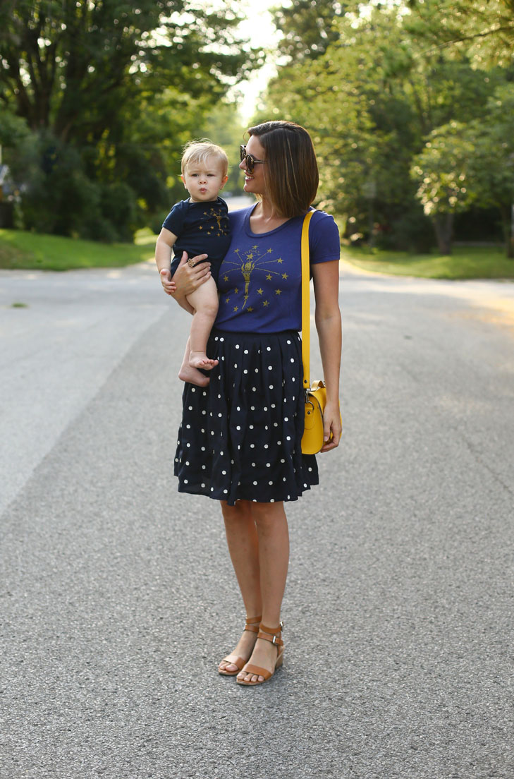 Mom Style, Playground Tee, Matching Mother and Son, Jessica Quirk and her son Felix