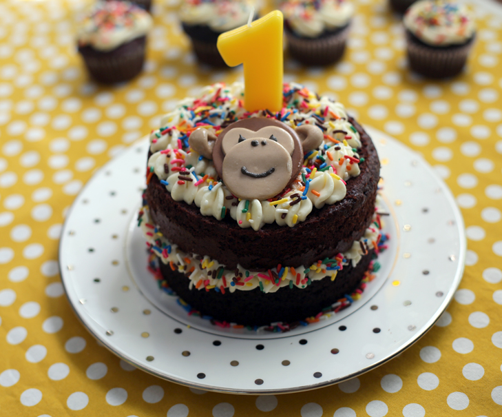 First Birthday Party, Monkey themed birthday, Baby Boy Birthday