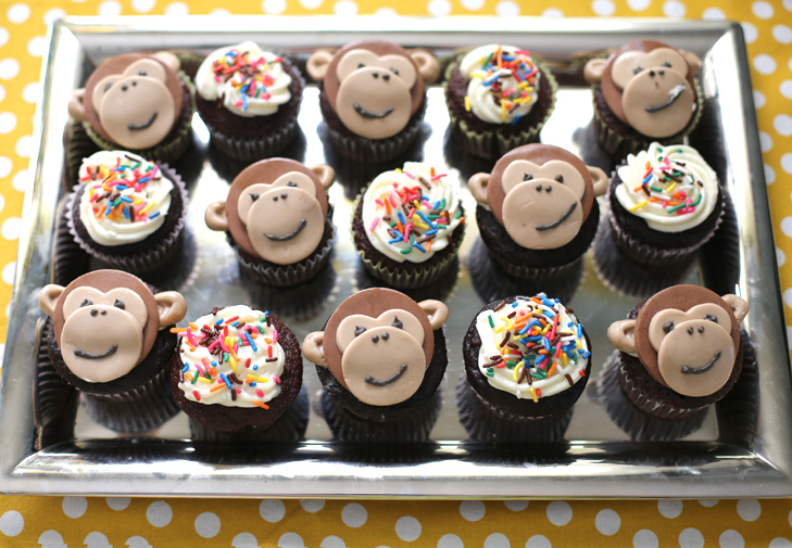 First Birthday Party Monkey Themed Baby Boy