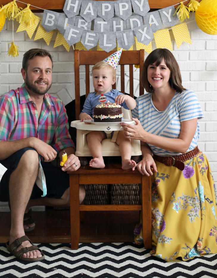 First Birthday Party, Monkey themed birthday, Baby Boy Birthday