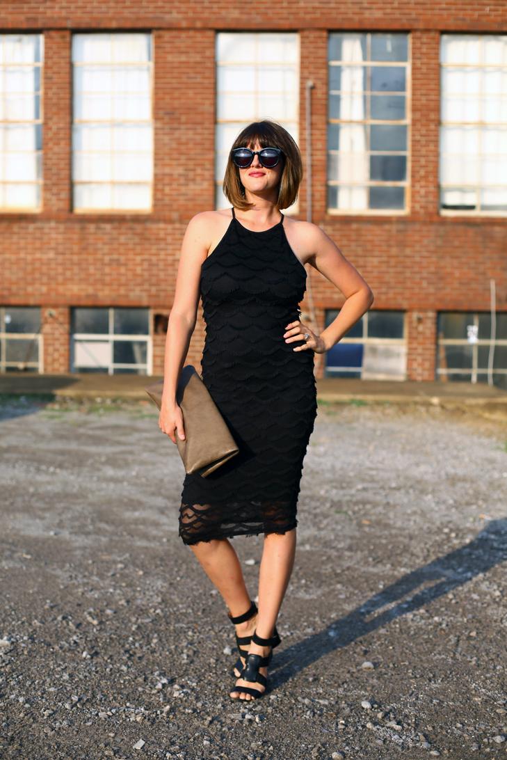 black dress, nashville, Jessica Quirk